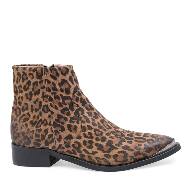 Electric Leopard Suede