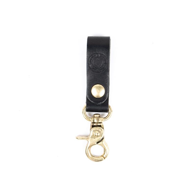 Keyring-leather-Black-Front 784fbb409a8c5