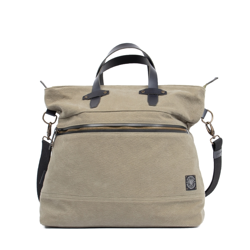 Paris-weekend-bag-khaki-front