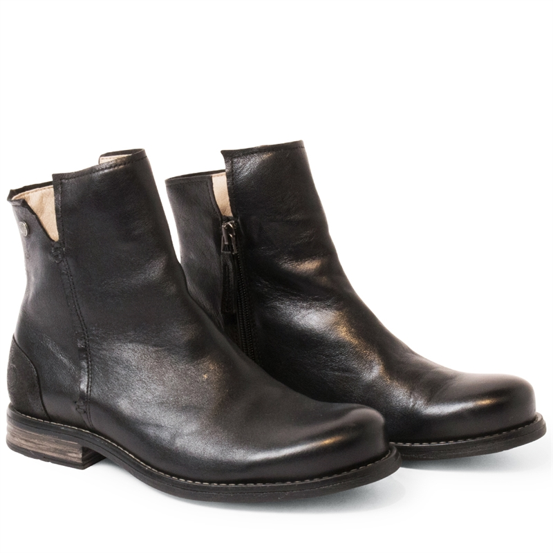 Shady-leather-boots-zipper-black-pair