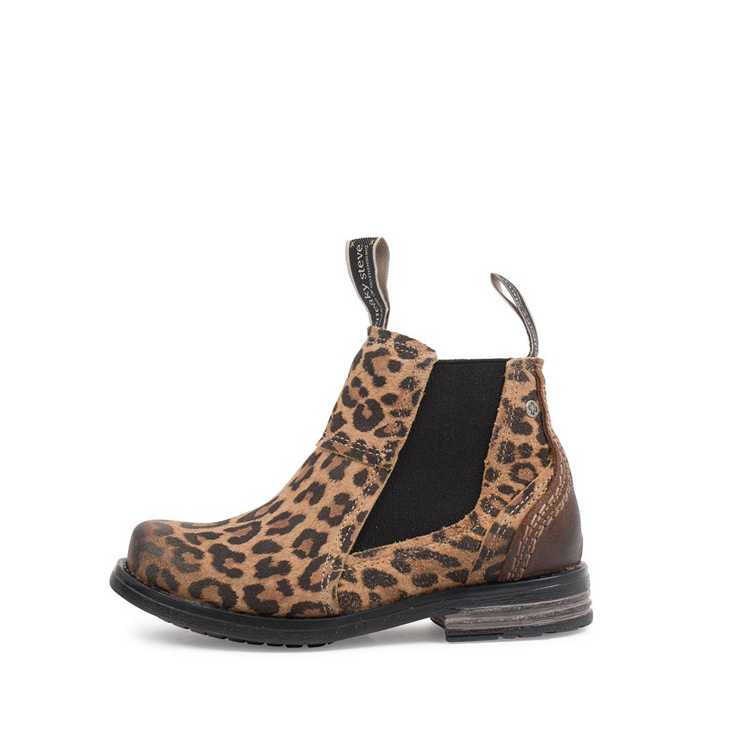 Style: Lance Kids Beige Leopard | Size 30-35