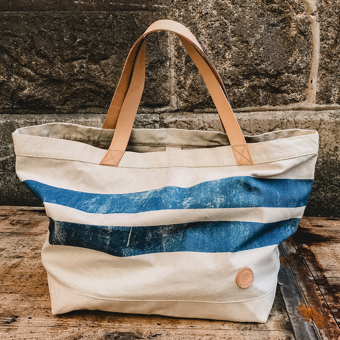 Style: Caden Beach Bag Offwhite