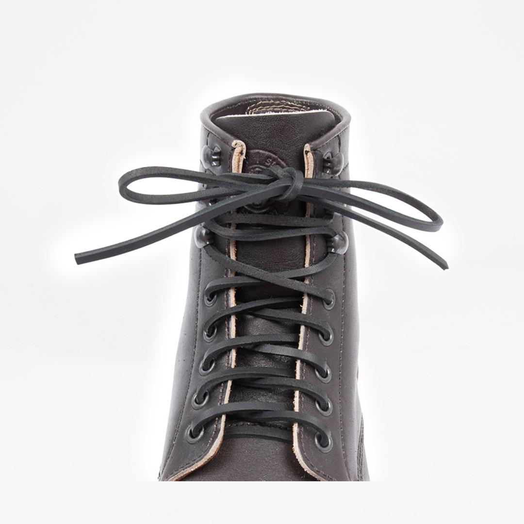 Leather Laces Black