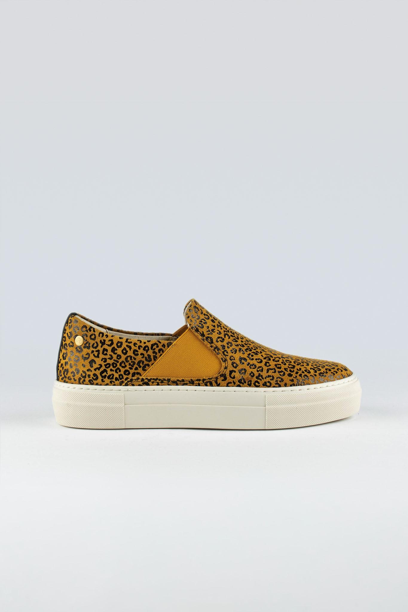 Hanger W Suede Yellow Mini Leopard