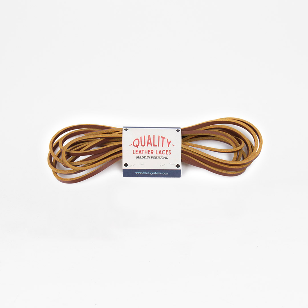Leather Laces Cognac
