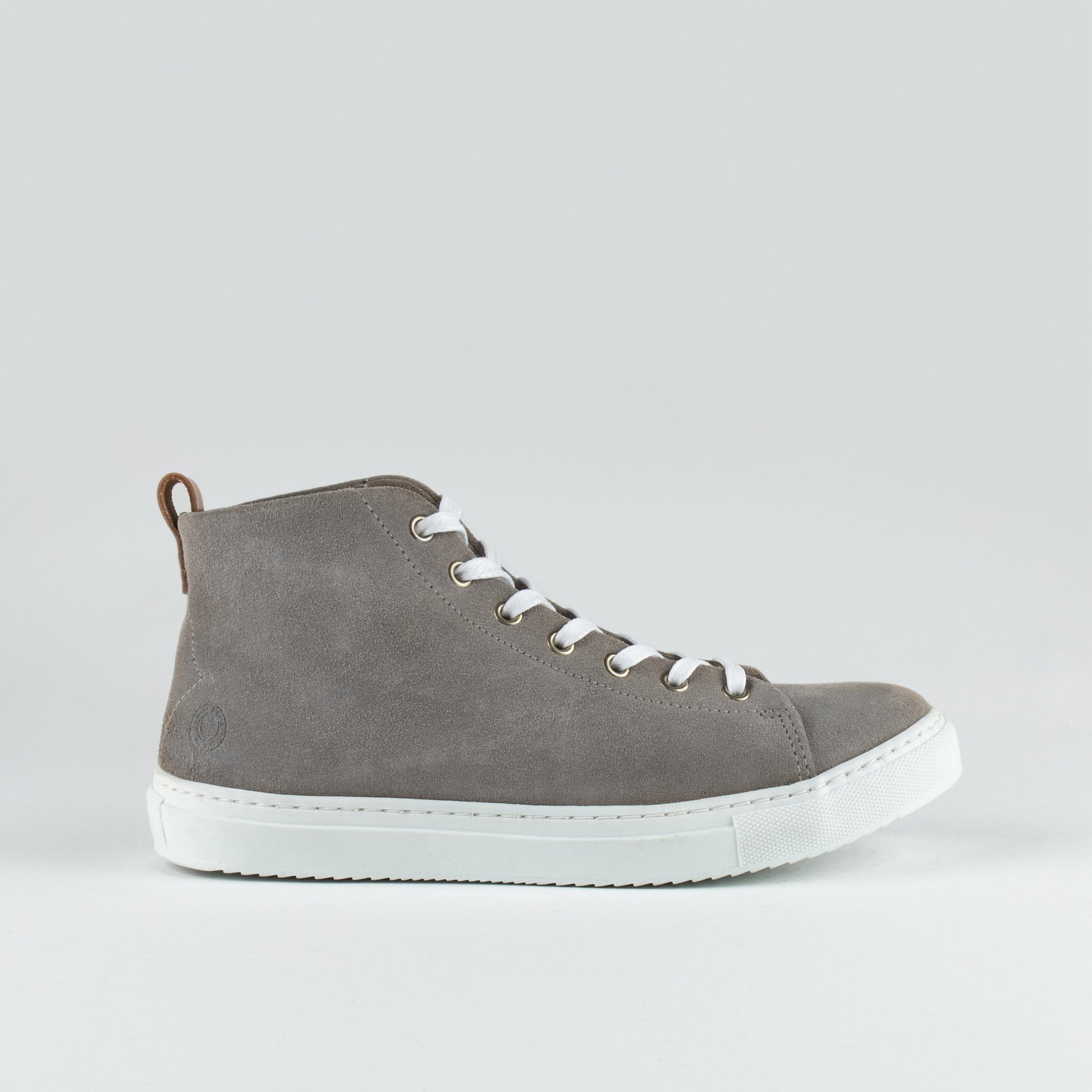 Stoked High W Lt Beige Suede