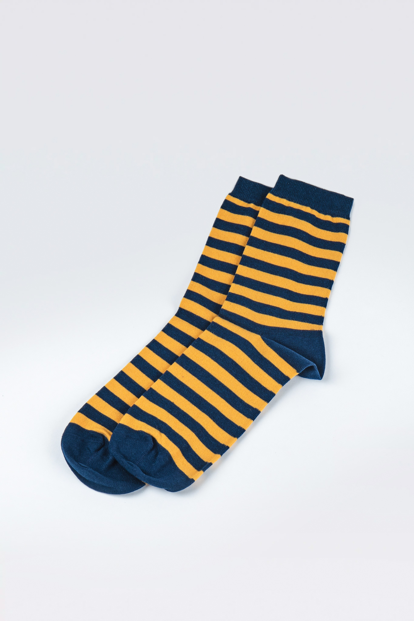 Striped Navy/Yellow