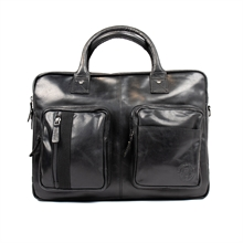 Albin-computer-bag-leather-black-front
