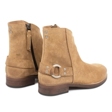 Imperial-cowboy-boot-zipper-suede-beige-detail