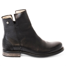 Shady-leather-boots-zipper-black-side