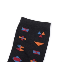 Socks-AW17-Small-Inka-black-cotton.2