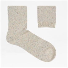 Socks-Neps-White-detail